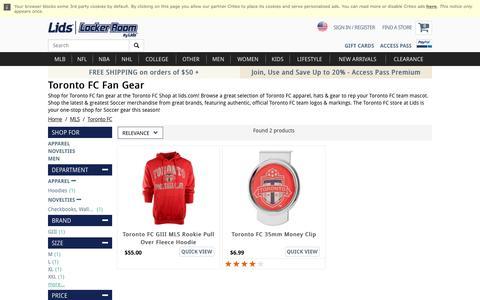 Toronto FC Fan Gear | Toronto FC Store | lids.com