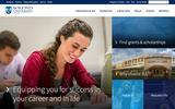Old Screenshot Bob Jones University Home Page