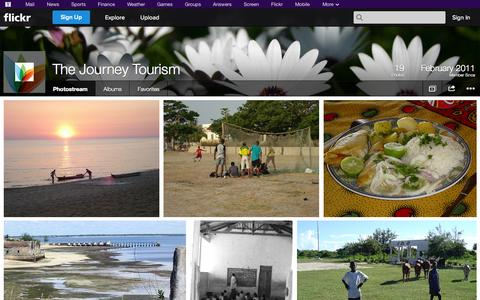Screenshot of Flickr Page flickr.com - Flickr: The Journey Tourism's Photostream - captured Oct. 24, 2014