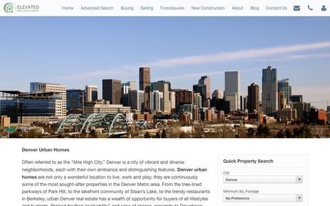 Screenshot of About Page denver-urban-homes.com - About Denver Urban Homes   Real Estate Broker Specializing in Denver Urban Homes - captured Feb. 9, 2016