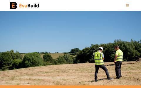 Screenshot of Case Studies Page evabuild.co.uk - Case studies   Evabuild - captured Sept. 29, 2018