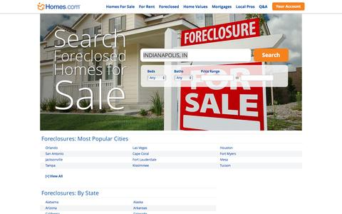 Foreclosures & Foreclosed Homes for Sale | Homes.com