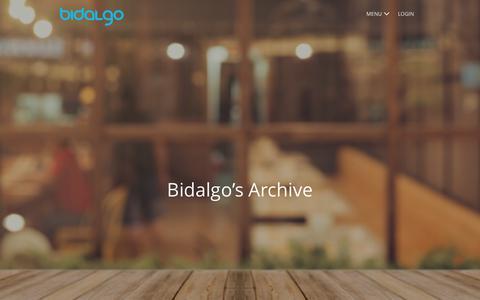 Screenshot of Blog bidalgo.com - Blog | Bidalgo - Part 3 - captured Feb. 2, 2018