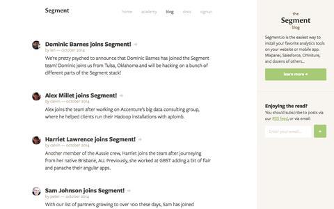 Segment Blog