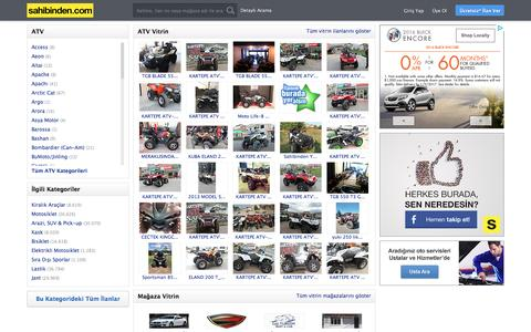 Satılık İkinci El ve Sıfır ATV ATV fiyatları, ATV İlanları sahibinden.com' da