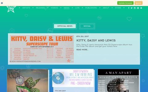 Screenshot of Press Page sundaybest.net - News - Sunday Best - captured Oct. 24, 2017