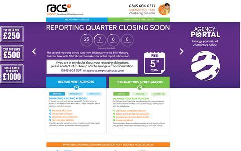 PAYE Umbrella Company   Contractor Umbrella Companies   RACS Group