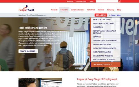 Total Talent Management | PeopleFluent