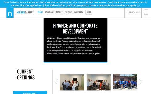 Finance & Corporate Development | Nielsen Careers