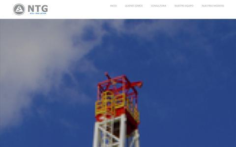 Screenshot of Home Page ntgrhs.com - NTGRHS | LATAM - captured Oct. 9, 2014