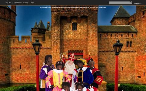 Screenshot of Home Page declubvansinterklaas.nl - De Club van Sinterklaas - Officiële website van de enige echte De Club van Sinterklaas - captured Sept. 30, 2014