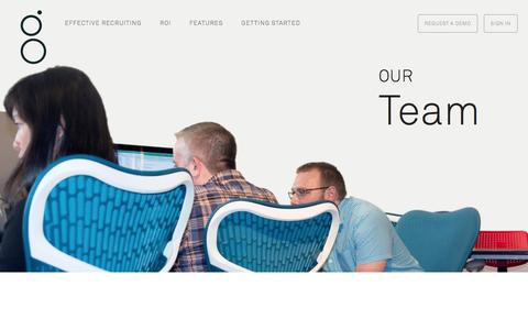 Screenshot of Team Page greenhouse.io - Team - captured Oct. 29, 2014