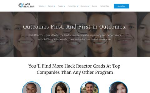 Student Outcomes   Hack Reactor
