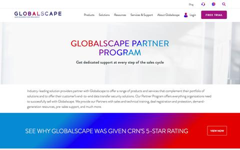 Partner Program: Resell MFT & iPaas Solutions | Globalscape