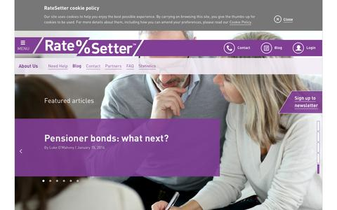 RateSetter Blog - Peer to Peer Lending Blog & News
