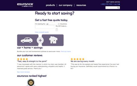 Esurance Auto and Home Insurance – Plus Much More
