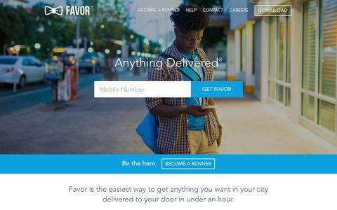 Favor Delivery - Anything Delivered