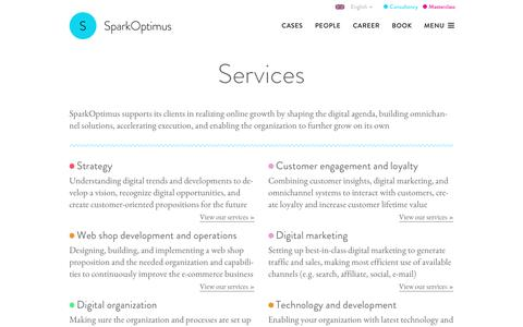 Services | SparkOptimus