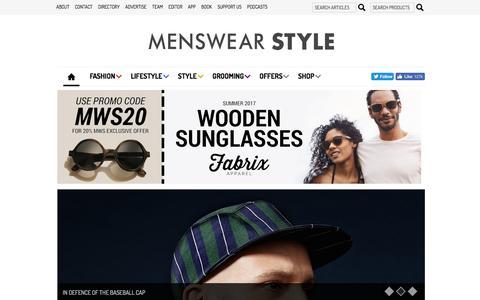 Men's Fashion Blog, Fashion Magazine, Fashion Tips