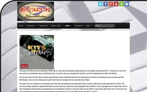 Screenshot of Press Page kitcarcollection.com - Media – Kitcarcollection - captured June 9, 2017