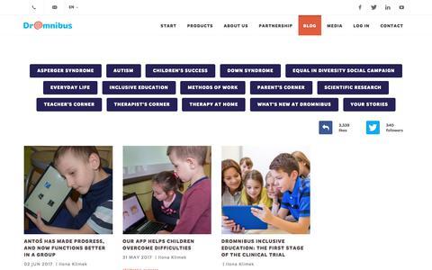 Screenshot of Blog dromnibus.com - DrOmnibus - captured June 5, 2017