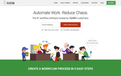Business Process Management Tool & Workflow Software | Automate Work