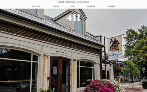 Screenshot of Hours Page 411west.com - Connect — 411 - captured July 2, 2018