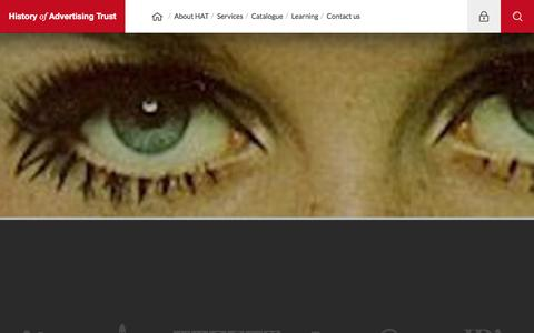Screenshot of Privacy Page hatads.org.uk - Privacy | History Of Advertising Trust - captured Dec. 1, 2016