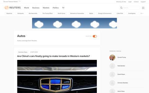 Autos | Reuters.com