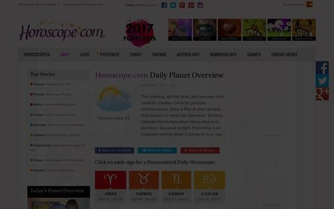 Horoscope.com: Free Horoscopes, Astrology, Numerology and more...