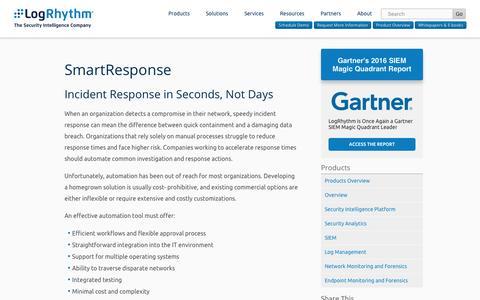 SmartResponse | LogRhythm