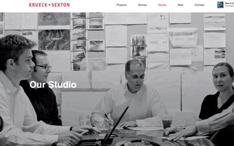 Screenshot of Team Page ksarch.com - Krueck + Sexton | Our Studio - captured Oct. 16, 2018