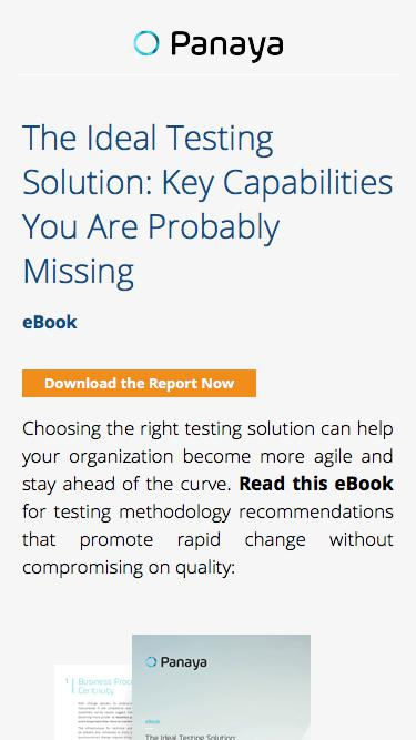 Test Management Trends - Equip Yourself for Agile Testing