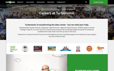 Turbonomic Careers | Open Job Opportunities