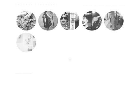 Screenshot of Press Page nelianafuenmayor.com - press | n e l i a n a f u e n m a y o r - captured Oct. 9, 2014