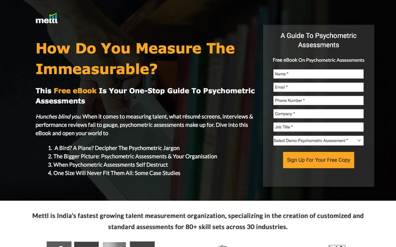 Free eBook on Psychometric Asssessments