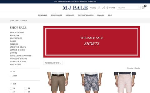 Shorts Sale On Now | Men's Shorts & Swim Shorts Sale | MJ Bale
