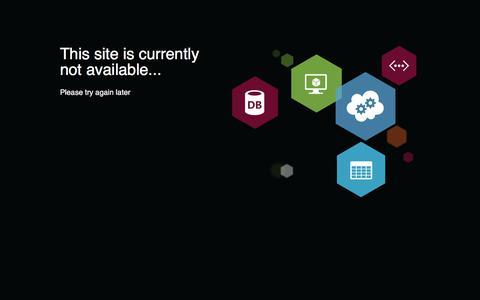 Web Site - Unavailable