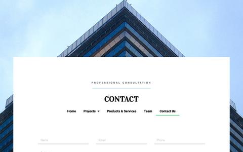 Screenshot of Contact Page dsfco.com - Contact Us - Direct Solutions Flooring - captured Oct. 9, 2018