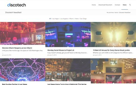 Nightlife News by Discotech - the #1 Nightlife App
