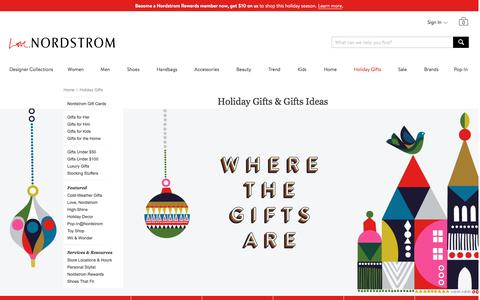 Christmas Gift Ideas & Holiday Gifts | Nordstrom