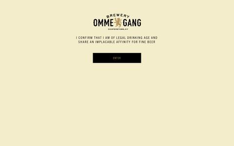 Screenshot of Press Page ommegang.com - Media | Brewery Ommegang - captured Sept. 14, 2019