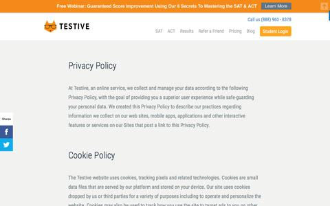 Privacy Policy | Testive