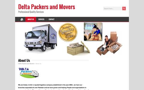 About Us | Delta Packers and Movers
