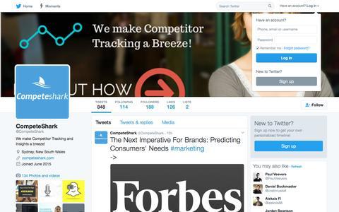 CompeteShark (@CompeteShark) | Twitter
