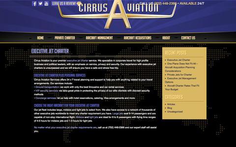 Screenshot of Blog cirrusav.com - Blog » Cirrus Aviation - captured Nov. 2, 2014