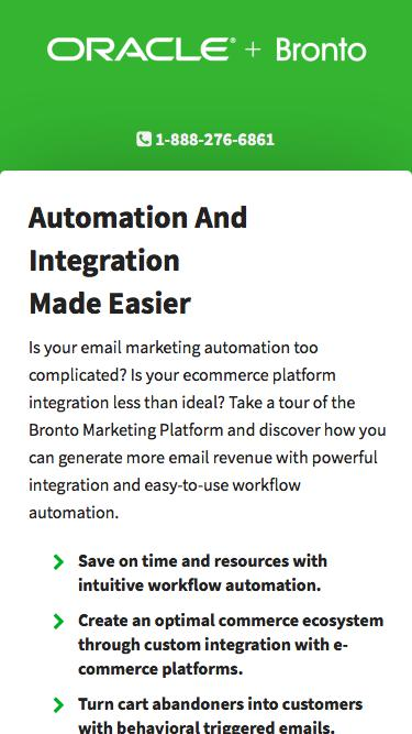 Bronto Software | Commerce Marketing Automation