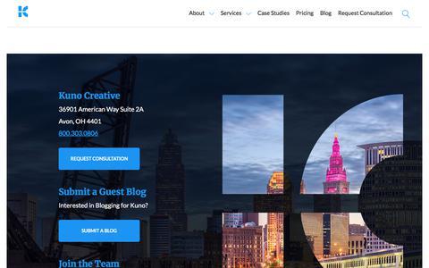 Contact Kuno Creative | Digital Marketing Agency