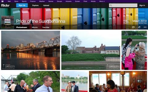 Screenshot of Flickr Page flickr.com - Flickr: Pride of the Susquehanna's Photostream - captured Oct. 22, 2014
