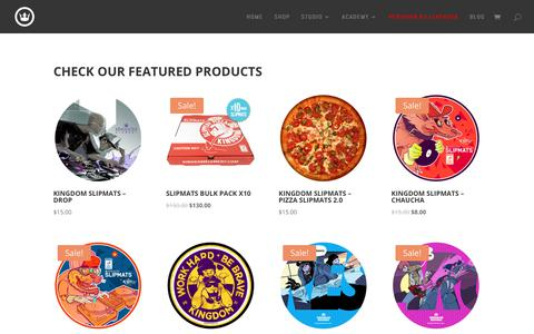 Screenshot of Products Page kingdomelement.com - Pages Archive - Kingdom Element - captured Sept. 20, 2018
